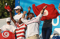 Roma 2nd August 2009 - 13th Fina World Championships .From 17th to 2nd August 2009.Men's 1500m Freestyle.Fans of Tunisian Oussama MELLOULI.Roma2009.com/InsideFoto/SeaSee.com . .Foto Andrea Staccioli Insidefoto