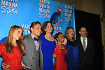 "ATWT Billy Magnussen, Sigourney Weaver, David Hyde Pierce,Kristen Nielsen, Shalita Grant, Genevieve Angelson star iin Broadway's ""Vanya and Sonia and Masha and Spike"" which had its opening night on March 14, 2013 at the Golden Theatre, New York City, New York.  (Photo by Sue Coflin/Max Photos)"