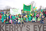 St. Patrick's Day Parade Milltown : Getting ready for the Parade Scoil Mhuire Fadhbach