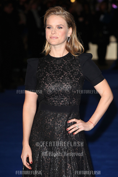 Alice Eve arriving for the Night At The Museum: Secret Of The Tomb UK premiere, at the Empire leicester Square, London. 15/12/2014 Picture by: Alexandra Glen / Featureflash