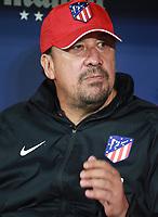 Atletico Madrid's team member 'Mono' Burgos