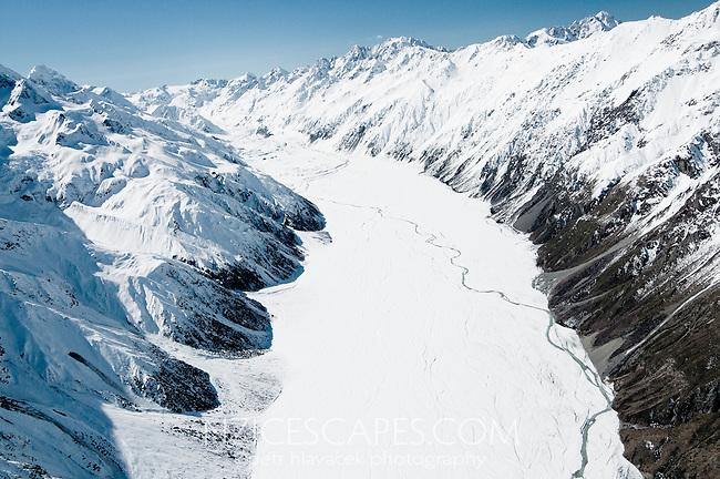 Murchison Glacier - Mt. Cook National Park