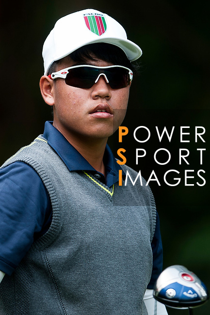 Sutthinun Sinsuntites of Thailand in action during the 9th Faldo Series Asia Grand Final 2014 golf tournament on March 19, 2015 at Faldo course in Mid Valley clubhouse in Shenzhen, China. Photo by Xaume Olleros / Power Sport Images
