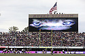 SEATTLE, WA - SEPTEMBER 14: The scoreboard lit up with Husky eyes during the college football game between the Washington Huskies and the Hawaii Rainbow Warriors on September 14, 2019 at Husky Stadium in Seattle, WA. Jesse Beals / www.Olympicphotogroup.com