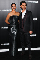 HOLLYWOOD, LOS ANGELES, CA, USA - OCTOBER 26: Camila Alves, Matthew McConaughey arrive at the Los Angeles Premiere Of Paramount Pictures' 'Interstellar' held at the TCL Chinese Theatre on October 26, 2014 in Hollywood, Los Angeles, California, United States. (Photo by Celebrity Monitor)