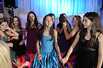 Maddy celebrates her Bat Mitzvah on the dance floor.