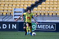 Joshua Sotirio of Wellington Phoenix during the A League - Wellington Phoenix v Western United FC at Westpac Stadium, Wellington, New Zealand on Sunday 13 October 2019. <br /> Photo by Masanori Udagawa. <br /> www.photowellington.photoshelter.com