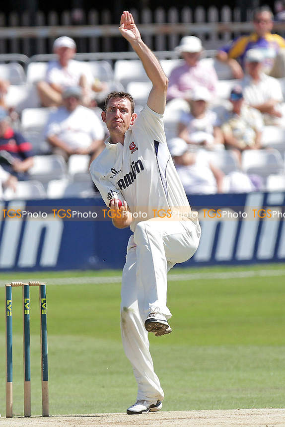 David Masters in bowling action for Essex - Essex CCC vs Northamptonshire CCC - LV County Championship Division Two Cricket at the Ford County Ground, Chelmsford - 26/06/11 - MANDATORY CREDIT: Gavin Ellis/TGSPHOTO - Self billing applies where appropriate - Tel: 0845 094 6026
