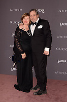 LOS ANGELES, CA - NOVEMBER 04: Marilou York, Mark Hamill at the 2017 LACMA Art + Film Gala Honoring Mark Bradford And George Lucas at LACMA on November 4, 2017 in Los Angeles, California. Credit: David Edwards/MediaPunch /NortePhoto.com
