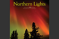 PRODUCT: Calendar<br /> TITLE: Northern Lights Wall 2018<br /> CLIENT: Wyman Publications / Browntrout Canada