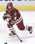 Nathan Gerbe - The Boston College Eagles defeated the Boston University Terriers 5-0 on Saturday, March 25, 2006, in the Northeast Regional Final at the DCU Center in Worcester, MA.