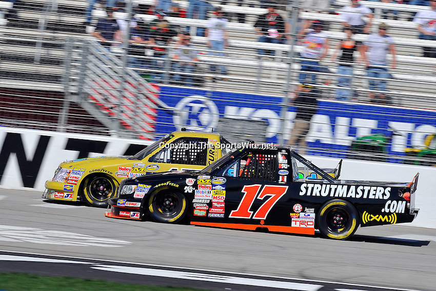 Mar 07, 2009; 2:24:10 PM; Hampton, GA, USA; NASCAR Camping World Truck Series race for the American Commercial Lines 200 at the Atlanta Motor Speedway.  Mandatory Credit: (thesportswire.net)