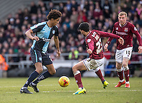 Sido Jombati of Wycombe Wanderers during the Sky Bet League 2 match between Northampton Town and Wycombe Wanderers at Sixfields Stadium, Northampton, England on the 20th February 2016. Photo by Liam McAvoy.
