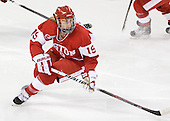 Jenelle Kohanchuk (BU - 19) - The Boston College Eagles defeated the Boston University Terriers 2-1 in the opening round of the Beanpot on Tuesday, February 8, 2011, at Conte Forum in Chestnut Hill, Massachusetts.