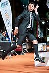 Miguel Maldonado attends to orange carpet of new comedian schedule of #0 during FestVal in Vitoria, Spain. September 06, 2018. (ALTERPHOTOS/Borja B.Hojas)