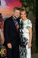 "LOS ANGELES - NOV 28:  Andy Serkis, Lorraine Ashbourne at the ""Mowgli: Legend of the Jungle"" Premiere at the ArcLight Theater on November 28, 2018 in Los Angeles, CA"