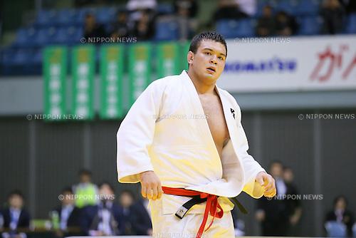 Wolf Aaron, NOVEMBER 7, 2015 - Judo : Kodokan Cup 2015 Men's -100kg at Chiba Port Arena, Chiba, Japan. (Photo by Yohei Osada/AFLO SPORT)