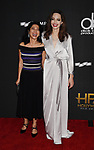 BEVERLY HILLS, CA - NOVEMBER 05: Honorees Loung Ung (L) and Angelina Jolie attend the 21st Annual Hollywood Film Awards at The Beverly Hilton Hotel on November 5, 2017 in Beverly Hills, California.