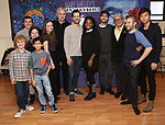 Avey Noble, Kemp Jernigan, Peyton Lusk, Shiv Ajay Pancholi-Parekh, Mia Vallet, Rocco Sisto, Robert Fairchild, Krysty Swann, Paul Wesley, Donald T. Sanders, Parker Ramsay and Stephen Lin attends the Meet & Greet the cast of 'Mary Shelley's Frankenstein' at the Shelter Studios on December 14, 2017 in New York City.