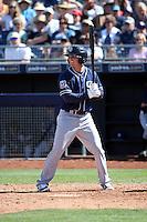 Josh VanMeter - San Diego Padres 2016 spring training (Bill Mitchell)