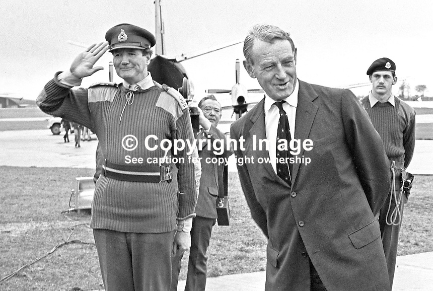 Sir Frank King Incoming British Army Commander N Ireland