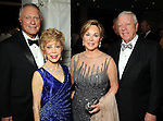 "From left: Jim Daniel and  Margaret Alkek Williams with Nancy and Rich Kinder at ""Modern"" the  Museum of Fine Arts Houston's Grand Gala Ball  Friday Oct. 12,2012.(Dave Rossman photo)"