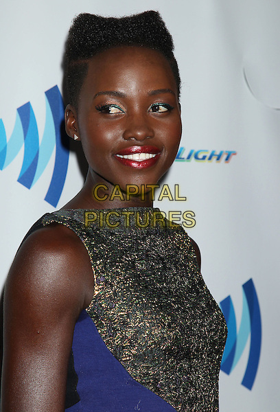 12 April 2014 - Beverly Hills, California - Lupita Nyong'o. 25th Annual GLAAD Media Awards held at The Beverly Hilton Hotel.