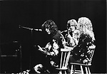 Led Zeppelin Jimmy Page, John Paul Jones and Robert Plant 25th May 1975 at Earls Court