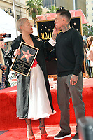 LOS ANGELES, CA. February 05, 2019: Pink &amp; Carey Hart at the Hollywood Walk of Fame Star Ceremony honoring singer Pink.<br /> Pictures: Paul Smith/Featureflash