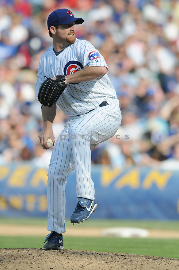 RYAN DEMPSTER, of the Chicago Cubs  in action  during the Cubs game against the Los Angeles Dodgers in Chicago, IL on May 30, 2009. The Cubs win 7-0...