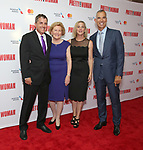 Scott Marshall, Barbara Marshall, Kathleen Marshall, Jerry Mitchell attends the Garry Marshall Tribute Performance of 'Pretty Woman:The Musical' at the Nederlander Theatre on August 1, 2018 in New York City.