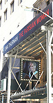 Theatre Marquee unveiling for Uma Thurman starring in 'The Parisian Woman', a new play written by Beau Willimon and directed by Tony winner Pam MacKinnon, at the Hudson Theatre on October 18, 2017 in New York City.