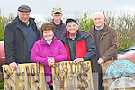 TOOLS: Selling some of the historic tool at the Kingdom County Fair on Siunday at Ballybeggan Racecourse, were, James and John Fairbrough (Rathkeake), Peggy and Dominic Coffey (Killorglin) and John Joe Sheehy (Moyvane).