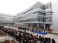 CERIMONIA DI APERTURA DEL NUOVO COMANDO  JFC NATO DI LAGO PATRIA .NELLA FOTO ....OPENING CEREMONY OF THE NEW JFC NAPLES HQ