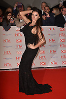 Katie Price (Jordan) attending the National Television Awards 2018 at The O2 Arena on January 23, 2018 in London, England. (<br /> CAP/Phil Loftus<br /> &copy;Phil Loftus/Capital Pictures
