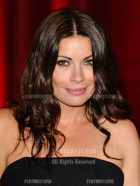 Alison King arriving for the British Soap Awards 2013, at Media City, Manchester. 18/05/2013 Picture by: Steve Vas / Featureflash