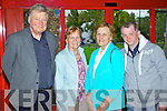 SHOWTIME: Peter Newman, Knightsmountain, Castleisland with Rita Byrne, Nora Quilter and John Byrne all Lixnaw pictured at the Kerry's Got Talent 'WILDCARD' show on Sunday in Siamsa Tire..