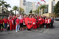 Feb. 1, 2019. Vista, CA. USA| Go Red at Tri-City Medical Center.  |Jamie Scott Lytle. Copyright.