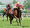 Political Courage winning at Delaware Park on 7/10/13