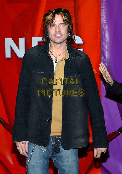 TOMMY LEE.2005 NBC Winter TCA All-Star Party held at the Hard Rock Cafe, Universal City, California, USA, .21 January 2005..half length nose ring piercing pierced.Ref: ADM.www.capitalpictures.com.sales@capitalpictures.com.©JWong/AdMedia/Capital Pictures .