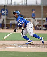 Juan Polonia - AZL Royals - 2010 Arizona League. .Photo by:  Bill Mitchell/Four Seam Images..