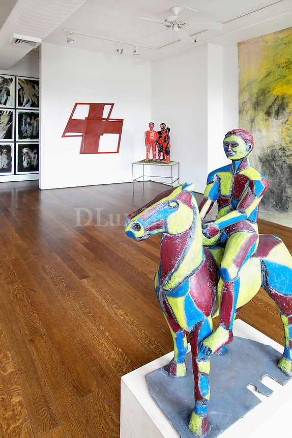 modern statuette