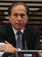 ATENCAO EDITOR: FOTO EMBARGADA PARA VEICULO INTERNACIONAL - SAO PAULO, SP, 28 NOVEMBRO 2012 - SEMINARIO BRASIL - POLONIA OPORTUNIDADES DE COOPERACAO BILATERAL - O vice presidente da FIESP Benjamin Steinbruch participou do Seminario Brasil-Polonia: Oportunidades de cooperacao bilateral, nessa quarta, 28. (FOTO: LEVY RIBEIRO / BRAZIL PHOTO PRESS)