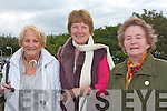 ANNUAL: Making their annual pilgrimage to our Lady's Well in Ballyheigue on Monday for Pattern Day were l-r: Noreen Regan, Kilmoyley, Ann McCrohan, London and Tess Sheehy, Kilmoyley.   Copyright Kerry's Eye 2008