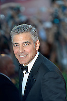 The first day at the start of the 70th Venice film festival and first Red Carpet. Venice August 28 2013. In the photo George Clooney. Photo credit Adamo Di Loreto/BuenaVista*photo
