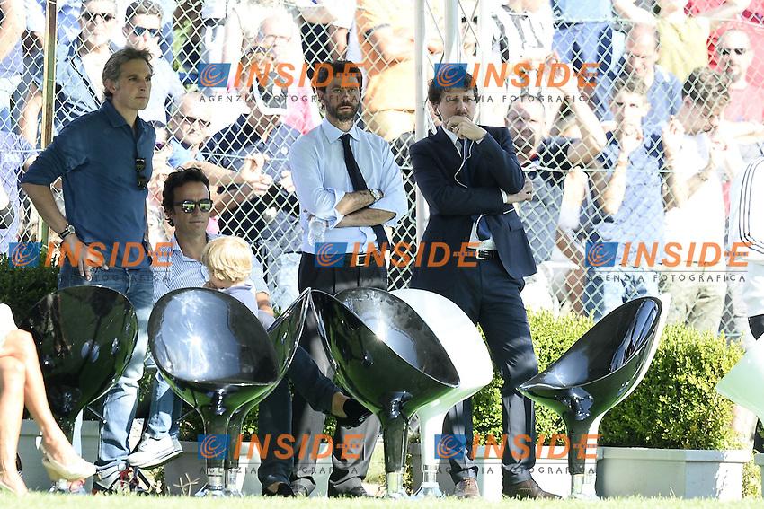 Villar Perosa (To) 19-08-2015 - amichevole / Juventus A-Juventus B / foto Daniele Buffa/Image Sport/Insidefoto<br /> nella foto: Andrea Agnelli