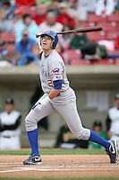 June 6, 2009: Ryan Flaherty  (2) of the Peoria Chiefs at Elfstrom Stadium in Geneva, IL..  Photo by: Chris Proctor/Four Seam Images