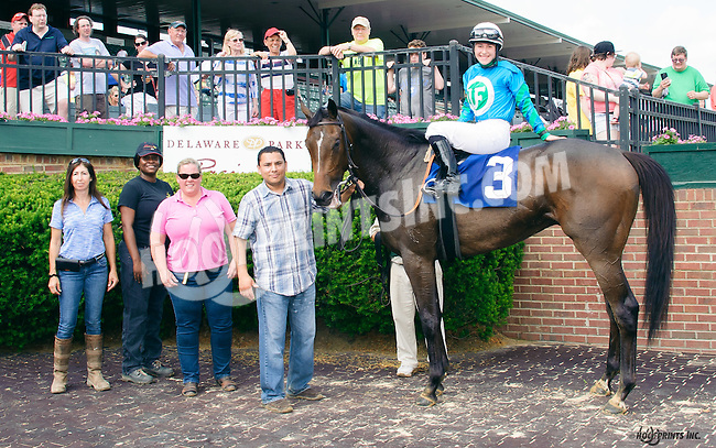 Shalako winning at Delaware Park on 6/4/16