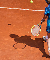 02-06-13, Tennis, France, Paris, Roland Garros, Shadow