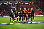08.11.2018, BayArena, Leverkusen, Europaleque, Vorrunde, GER, UEFA EL, Bayer 04 Leverkusen (GER) vs. FC Zuerich (SUI),<br />  <br /> DFL regulations prohibit any use of photographs as image sequences and/or quasi-video<br /> <br /> im Bild / picture shows: <br /> die Leverkusener Mannschaft , Mannschaftsfoto<br /> <br /> Foto &copy; nordphoto / Meuter<br /> <br /> <br /> <br /> Foto &copy; nordphoto / Meuter
